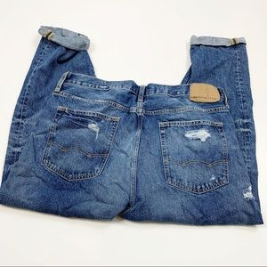 American Eagle Relaxes Taper Cuffed Hem Jeans 3484